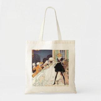 Princesas de dança do vintage doze por Kay Nielsen Sacola Tote Budget