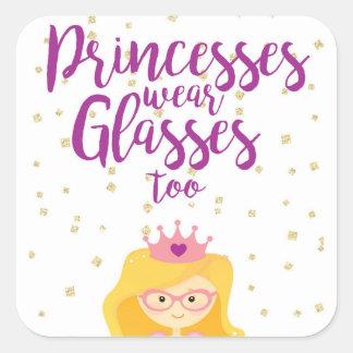 Princesas Vestir-se Vidro Demasiado Etiqueta