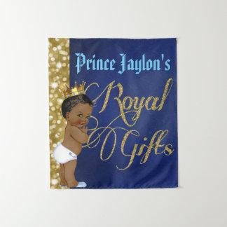 Príncipe africano Real Presente Parede Tapeçaria
