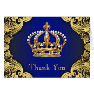 Príncipe Agradecimento Você Cartão