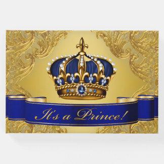 Príncipe azul livro de hóspedes do ouro