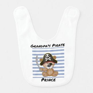 Príncipe Bebê Babador do pirata do vovô