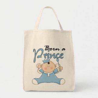 Príncipe Camiseta e presentes do bebê Sacola Tote De Mercado