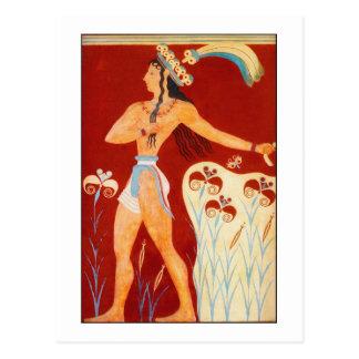 Príncipe de Minoan Cartão Postal