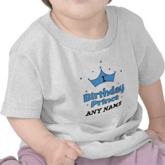Príncipe do primeiro aniversario tshirt