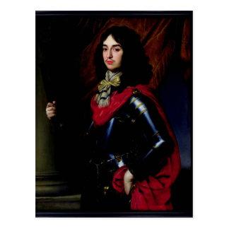Príncipe Edward do retrato de Palatinate na Cartão Postal