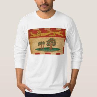 Príncipe Edward Ilha Bandeira T-shirt