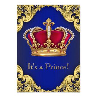 Príncipe extravagante real chá de fraldas