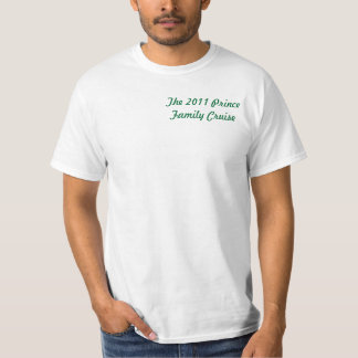 Príncipe Família Cruzeiro 2011 Camiseta