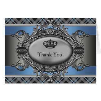 Príncipe pequeno Agradecimento Você Cartão da