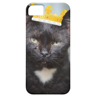príncipe pequeno triste Kittie Capa Barely There Para iPhone 5