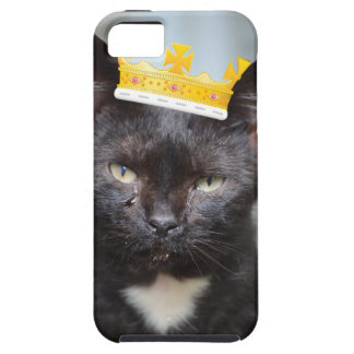príncipe pequeno triste Kittie Capa Tough Para iPhone 5