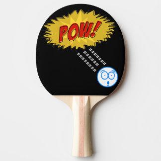 Prisioneiro de guerra engraçado raquete para pingpong