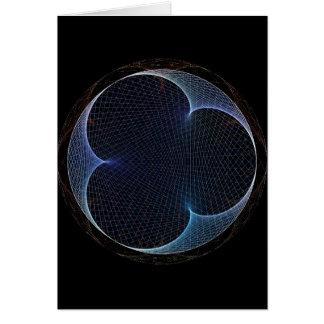 prisma do Retro-estilo Cartão Comemorativo