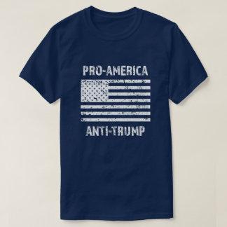 Pro camisa dos homens do trunfo de América anti