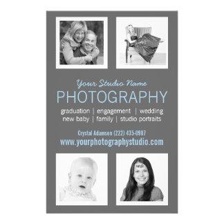Pro comunicado do negócio do fotógrafo modelo de panfletos