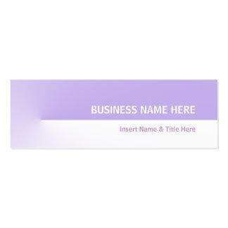 Pro mini roxo modelo cartões de visita