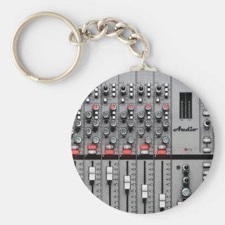 Pro misturador audio chaveiro