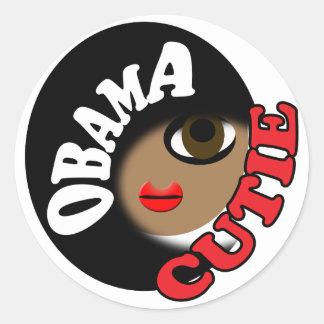 Pro Obama Adesivos Redondos