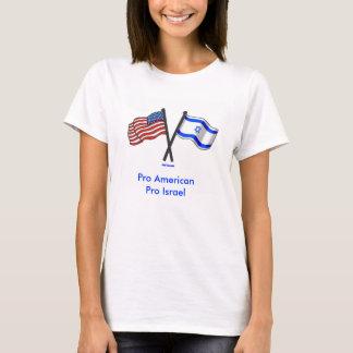 Pro pro camisa americana de Israel