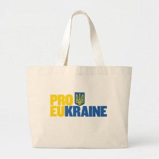 Pro UE pro Ucrânia Bolsa Tote Grande