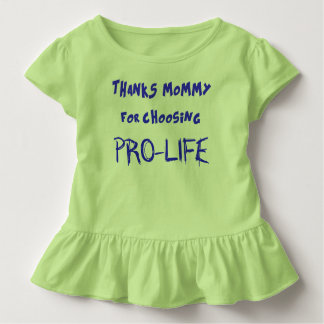 Pro-vida Camiseta Infantil