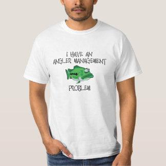 Problema de gestão do pescador t-shirts