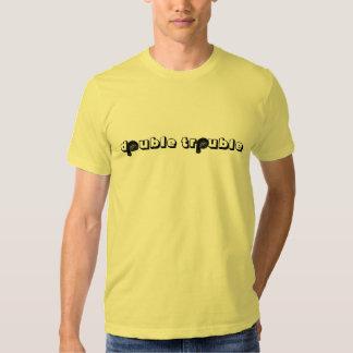 problema dobro camisetas