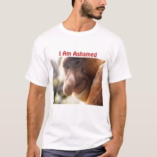 proboscis0925b, eu sou humilhado camiseta