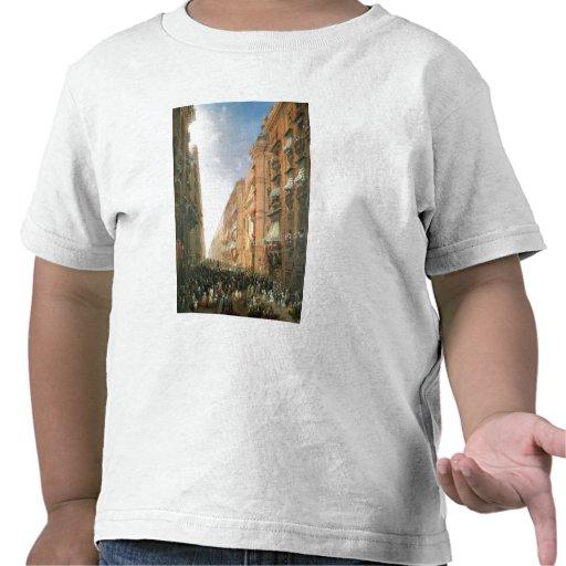 Procissão de Corpus Christi dentro através de Dora Camisetas