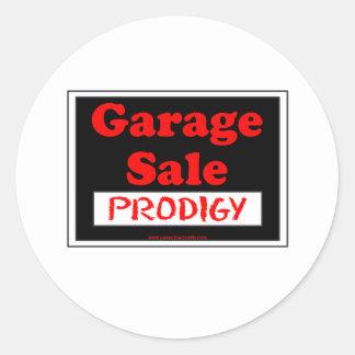 Prodígio da venda de garagem adesivo