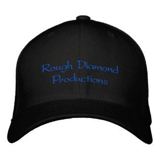 Produções do diamante áspero boné bordado