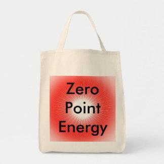 Produto do Promo da energia de ponto zero Bolsas