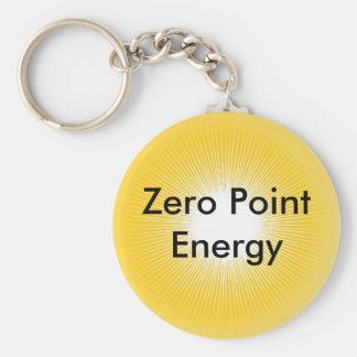 Produto do Promo da energia de ponto zero Chaveiros