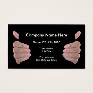 Produto inteligente ou serviços cartão de visitas