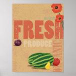 Produto orgânico posteres