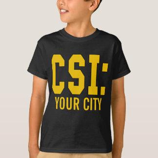 Produtos de CUSTOMIZEABLE CSI Camiseta
