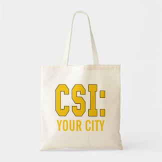 Produtos de CUSTOMIZEABLE CSI Sacola Tote Budget