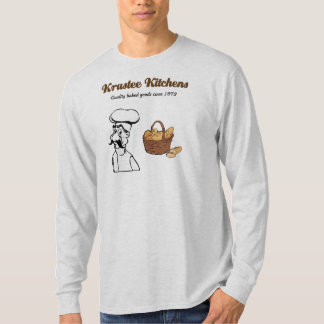 Produtos de forno da qualidade das cozinhas de Kru Camisetas
