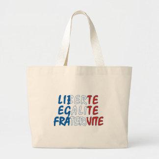 Produtos de Liberte Egalite Fraternite Sacola Tote Jumbo