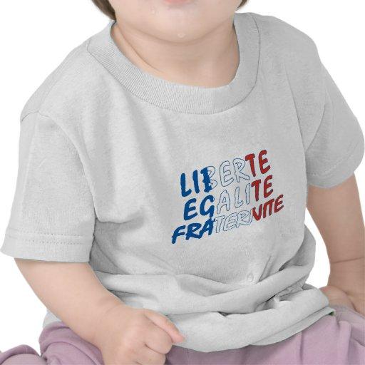 Produtos de Liberte Egalite Fraternite Tshirt