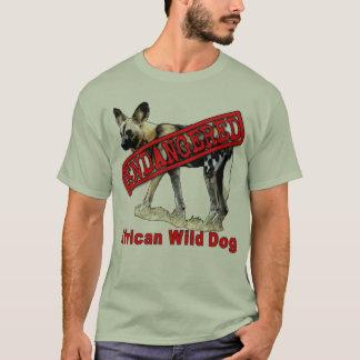 Produtos de origem animal pstos em perigo camiseta