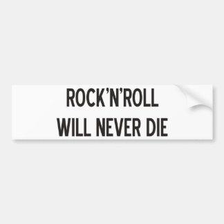Produtos & design do rock and roll! adesivo para carro