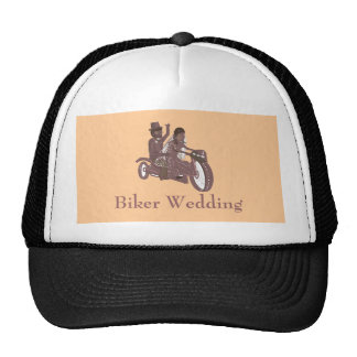 Produtos do casamento do motociclista boné