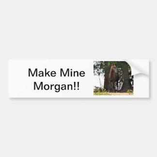 Produtos do cavalo de Morgan!! Adesivo Para Carro