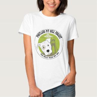 Produtos do divertimento do projeto do pitbull de camiseta