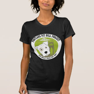 Produtos do divertimento do projeto do pitbull de tshirts