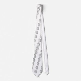 Produtos do esboço dos grafites da palavra do gravata