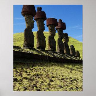 Produtos manufacturados de Rapa Nui, Ilha de Pásco Posters