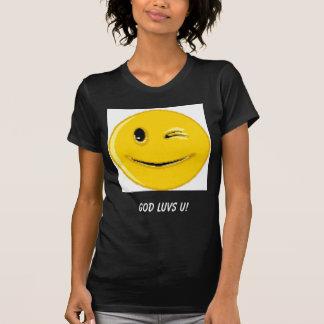 (Produtos múltiplos do smiley face) Tshirt